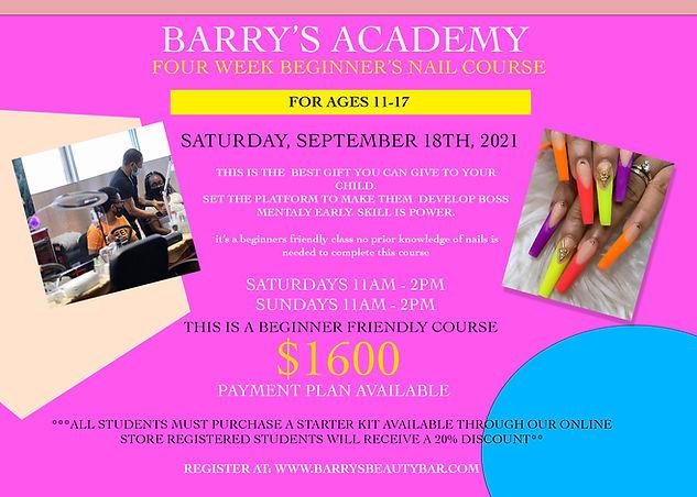 BARRYS ACADEMY TEENS FLYER SEPT 18.jpg