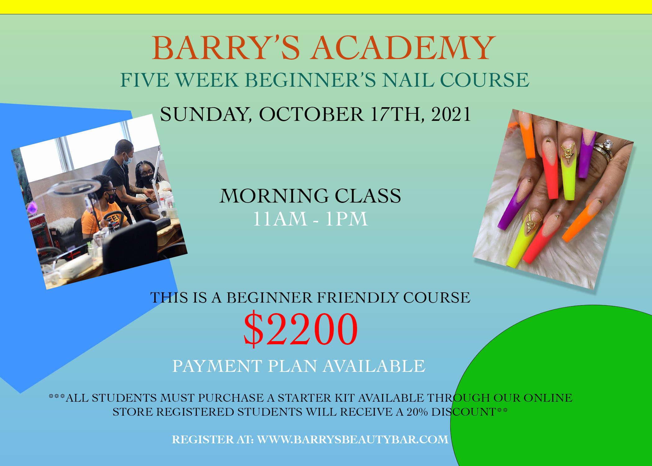 Barry's Academy (OCT 17TH 2021) MORNING