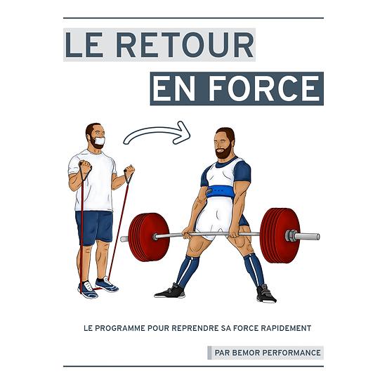 Programme - Le Retour en Force