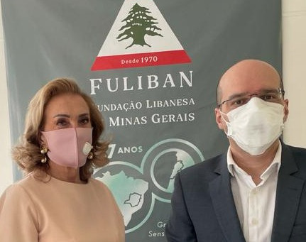 Fuliban estuda cooperação com Associação de Amizade Líbano-Brasil e Rotary Club no Líbano.