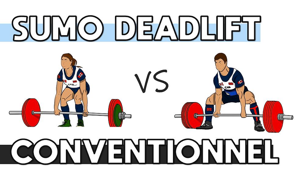 Sumo deadlift versus deadlift conventionnel : les différences