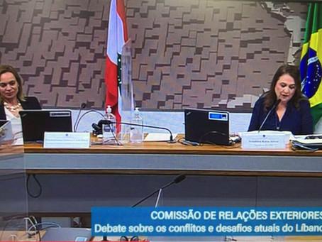 Fuliban/MG apresenta propostas ao Senado Federal para cooperação entre Brasil e Líbano