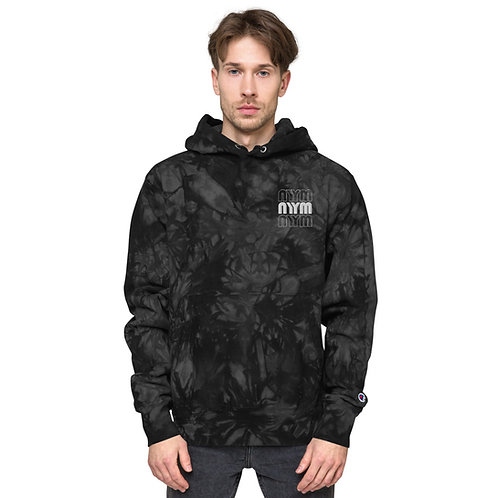 NYYM  Unisex Champion tie-dye hoodie