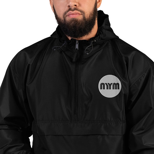 NYYM Embroidered Champion Packable Jacket