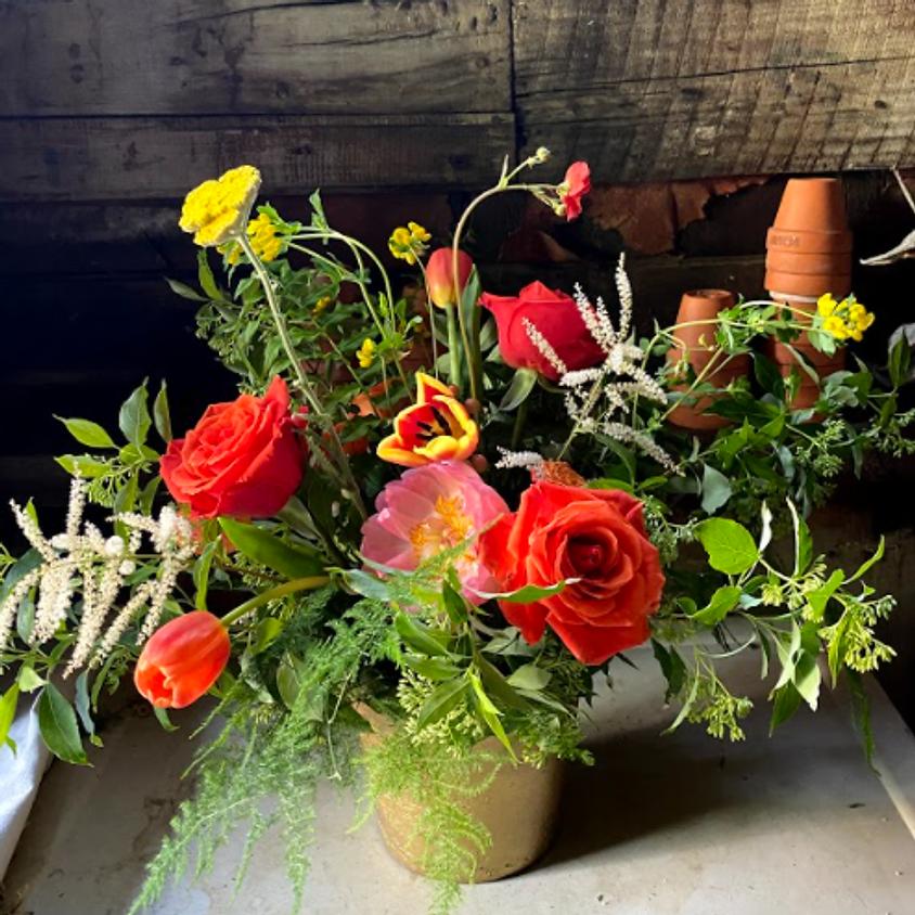 Seasonal Summer Centerpieces - Floral Arranging Class