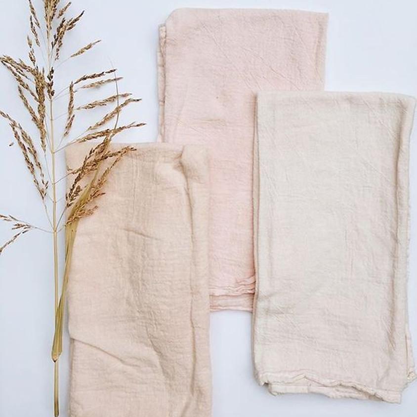 Botanical Fabric Dying