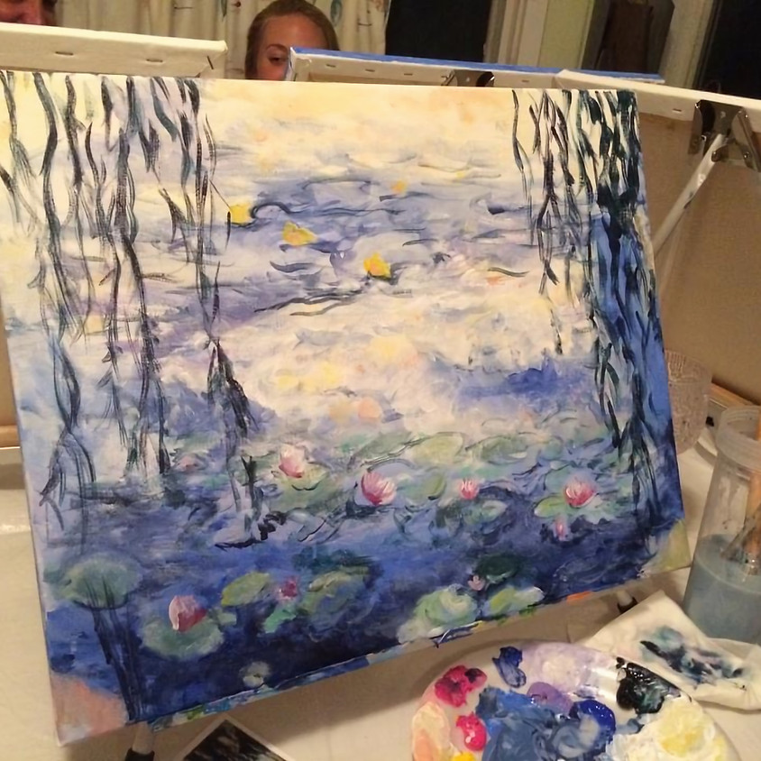 Painting the Lavender Field