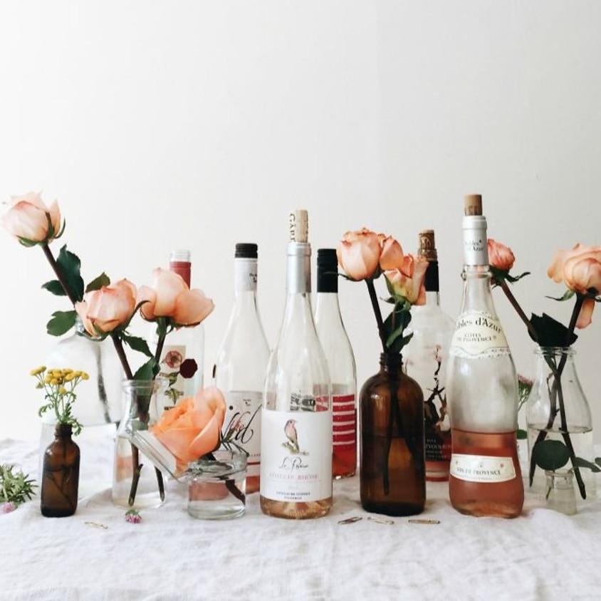 Wine Tasting & Flowers Night