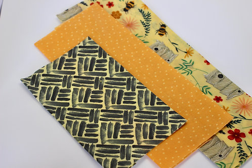 Beeswax Wraps (3 count)