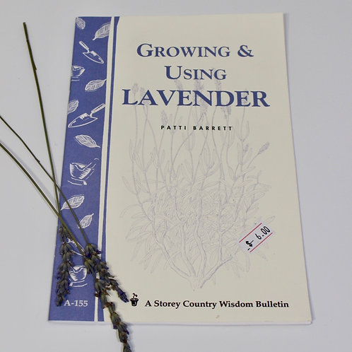 Using and Growing Lavender Book
