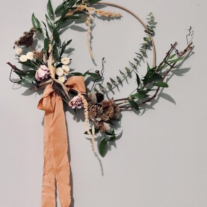Everlasting Dried Autumn Wreaths