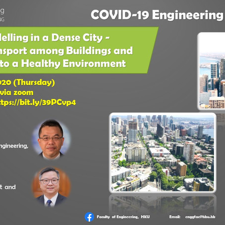 COVID-19 Engineering Lecture Series – Dispersion Modelling in a Dense City