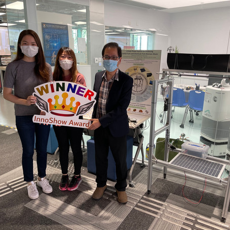 Two ME teams won the InnoShow Award at the 4th Engineering InnoShow, HKU