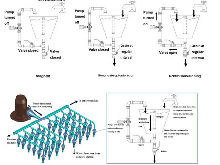 Study of lead leaching from copper-alloy water pipe components into potable water