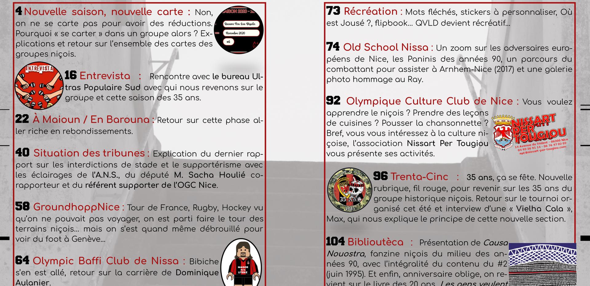 Sommaire QVLD #6