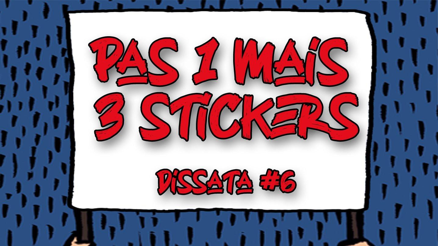 3 stickers