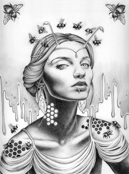 S Queen Bee BW.jpg