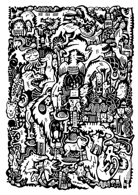 Tessellated Animals