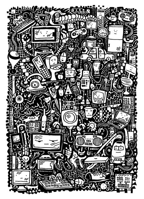 The Singularity in a Garage (robots)