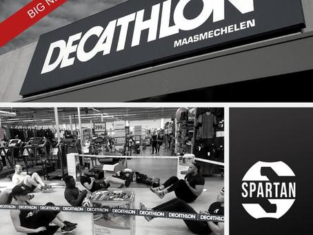Spartan Athletics slaat de handen in elkaar met Decathlon Maasmechelen