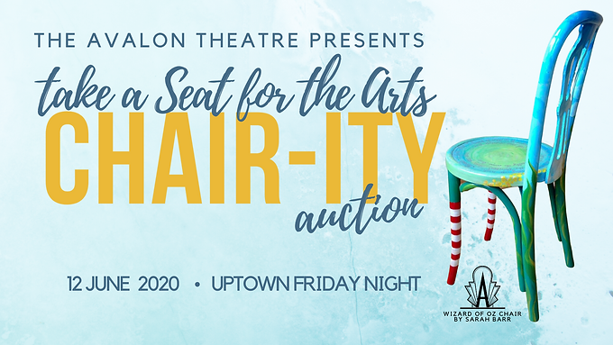 Take a Seat for the Arts: Chair-ity Auction