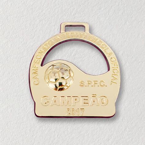Medalha para premiação esportiva