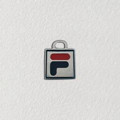 Puxador de metal para roupas - Puxador esmaltado