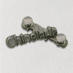 Enfeite para chinelo - Rebite de metal para chinelo