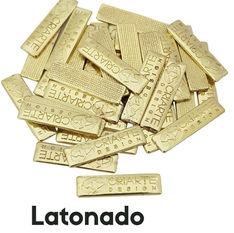Etiqueta de metal banho latonado baho latão brilhante banho dourado criarte Design .jpg