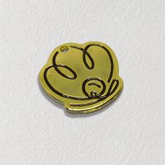 Etiqueta de metal para roupas - etiqueta de metal esmaltada