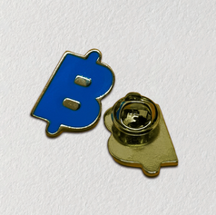 Pin de metal esmaltado - enamel pin