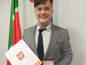 Генеральный директор компании MARK-FILM получил памятную медаль от Президента России