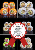 BEST DELIVERY SUSHI IN TOWN!