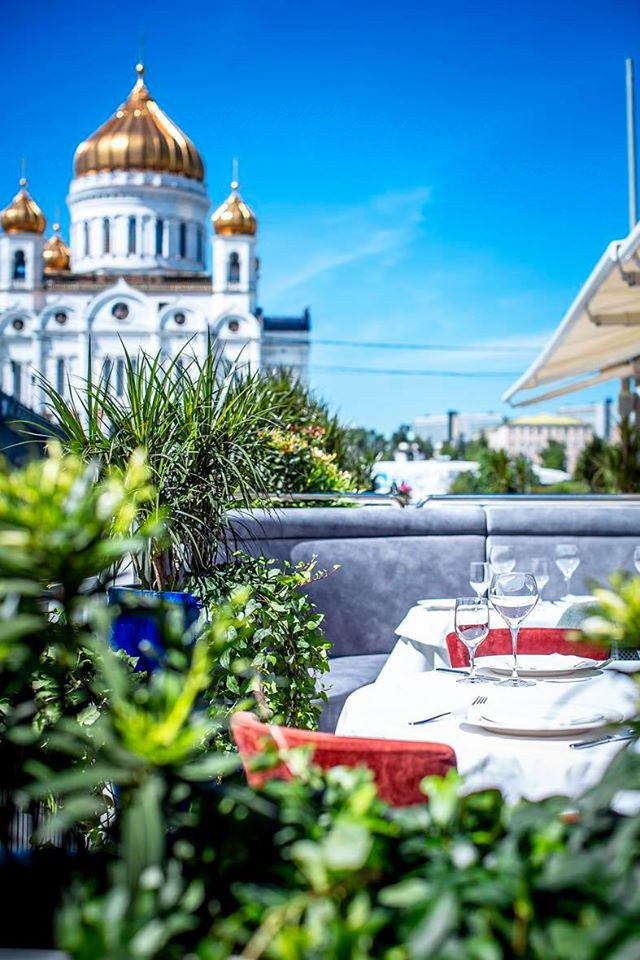 MOSCOW'S BEST TERRACES IN THE TIME OF COVID-19 (TOP20)