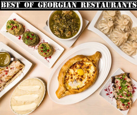 MOSCOW'S BEST GEORGIAN RESTAURANTS