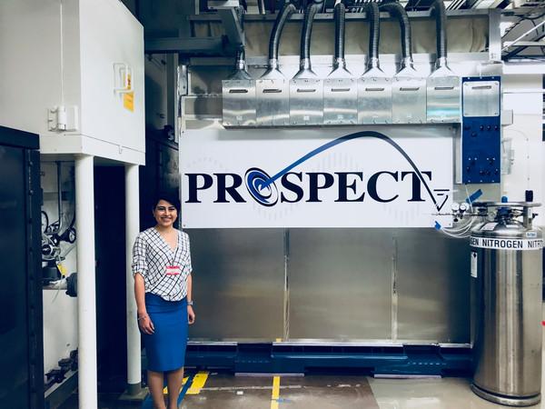PROSPECT experiment (while visiting Oak Ridge National Laboratory for giving seminar) Oak Ridge, USA