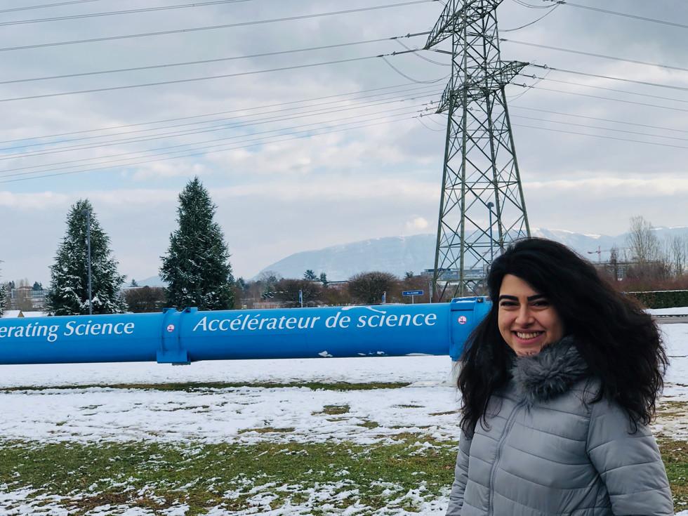 CERN during PhyStat-Nu workshop (Geneva, Switzerland)