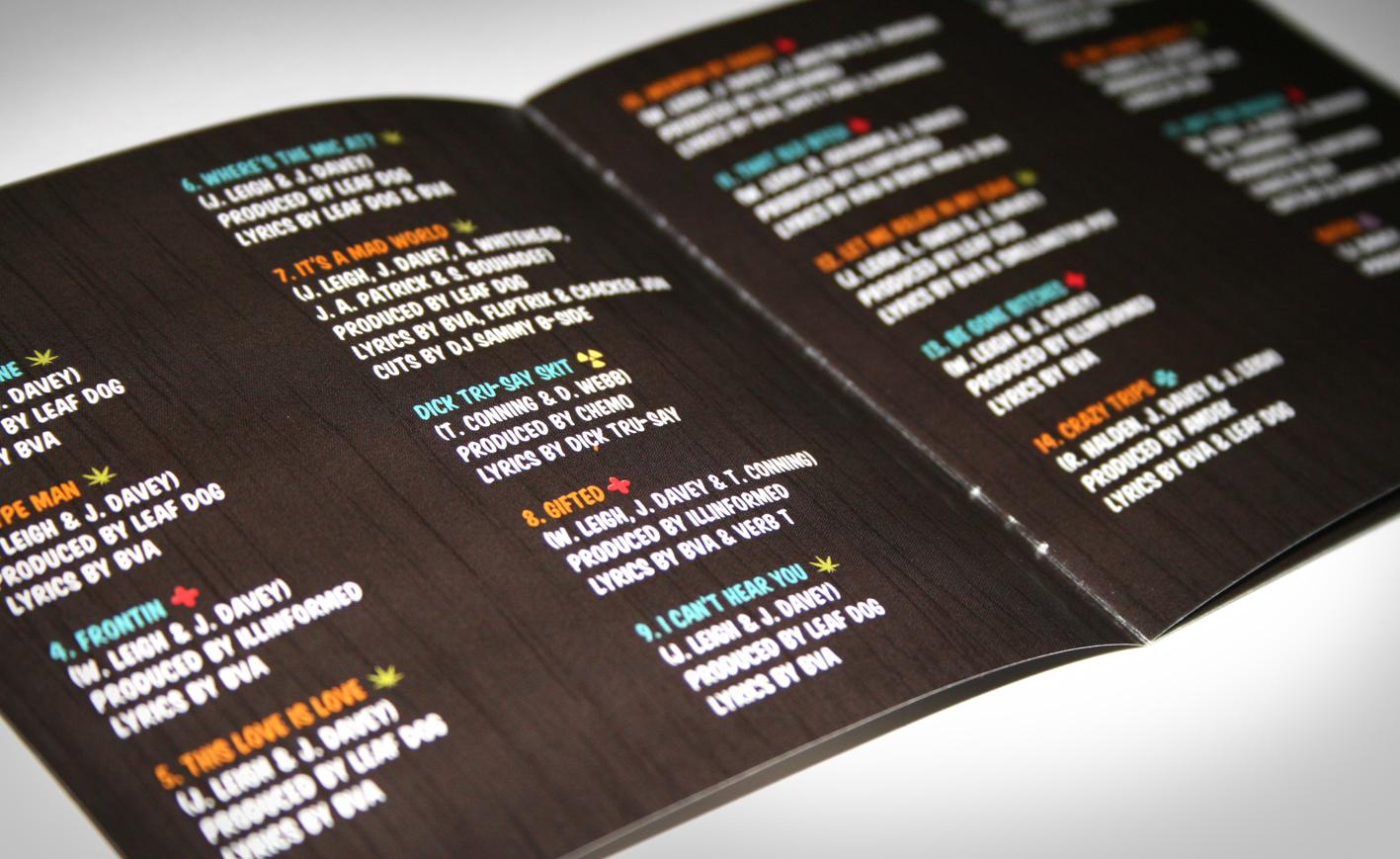 BVA cd booklet