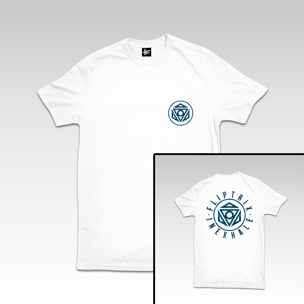 INEXHALE T BLUE-WHITE 4