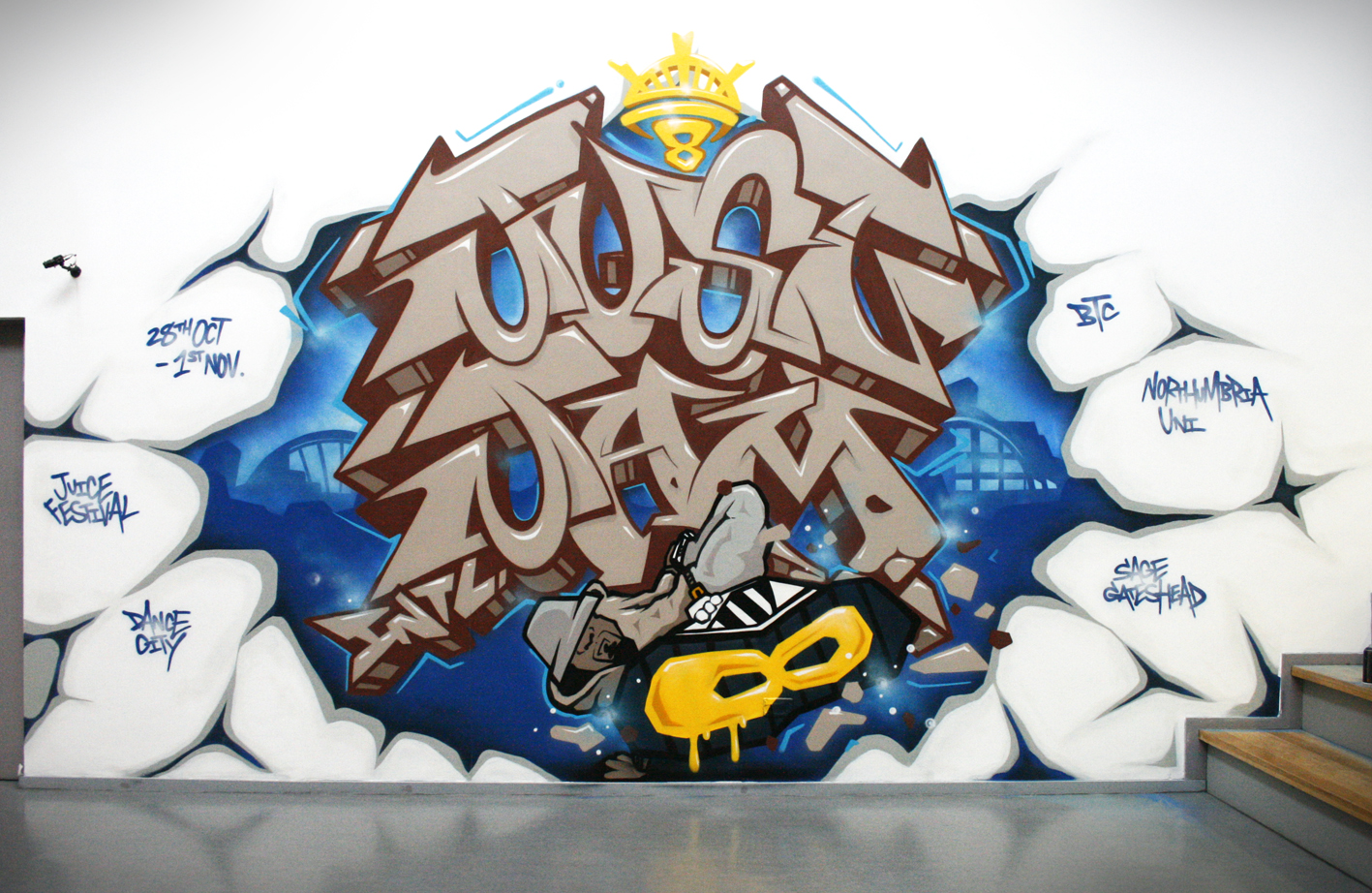 JUST JAM 8 DCwall