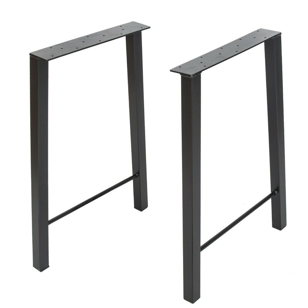 Steel Legs Rectangular Round Insert