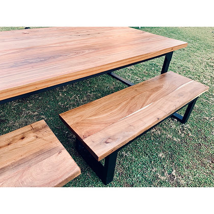 Exotic Wood Benches