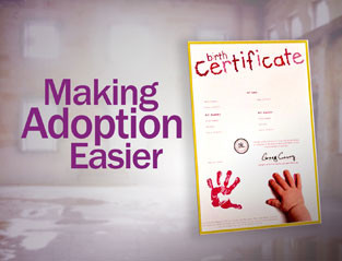 An image of the Making Adoption Easier show