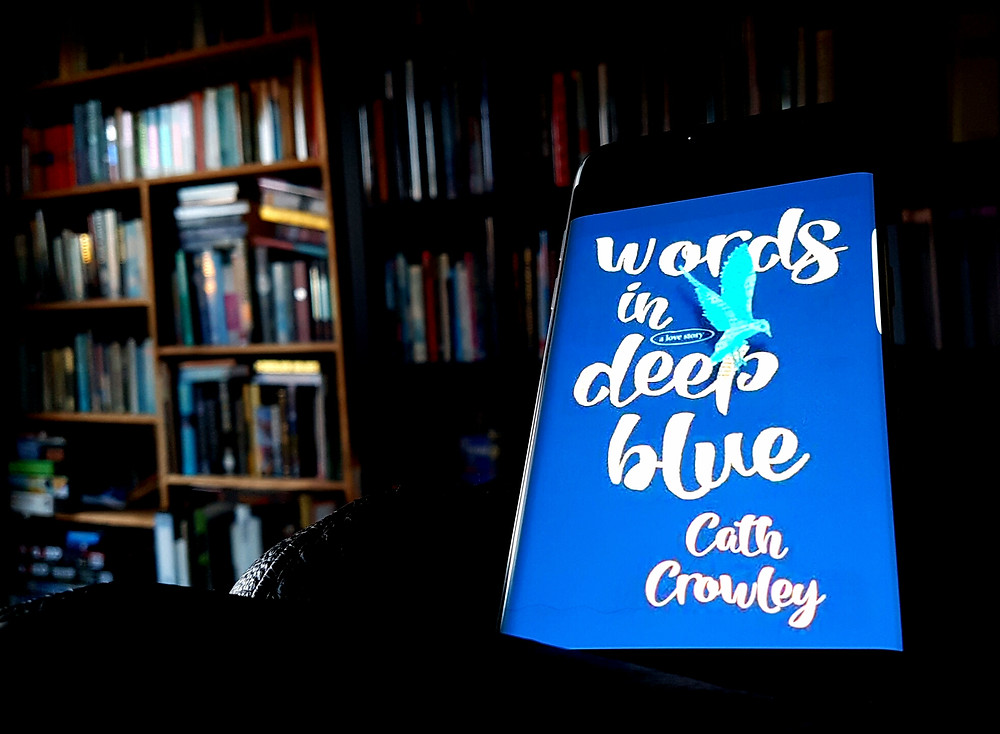 Photo of Words in Deep Blue, Cath Crowley