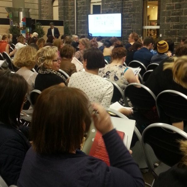 Two hundred people received a crash course in upcoming YA releases in Australia.
