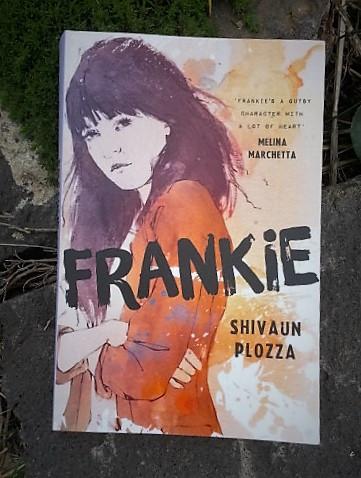 Shivaun Plozza's debut YA novelFrankie.