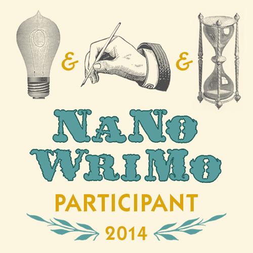 The 2014 NaNoWriMo participant badge