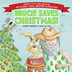 Cover image of Brucie Saves Christmas