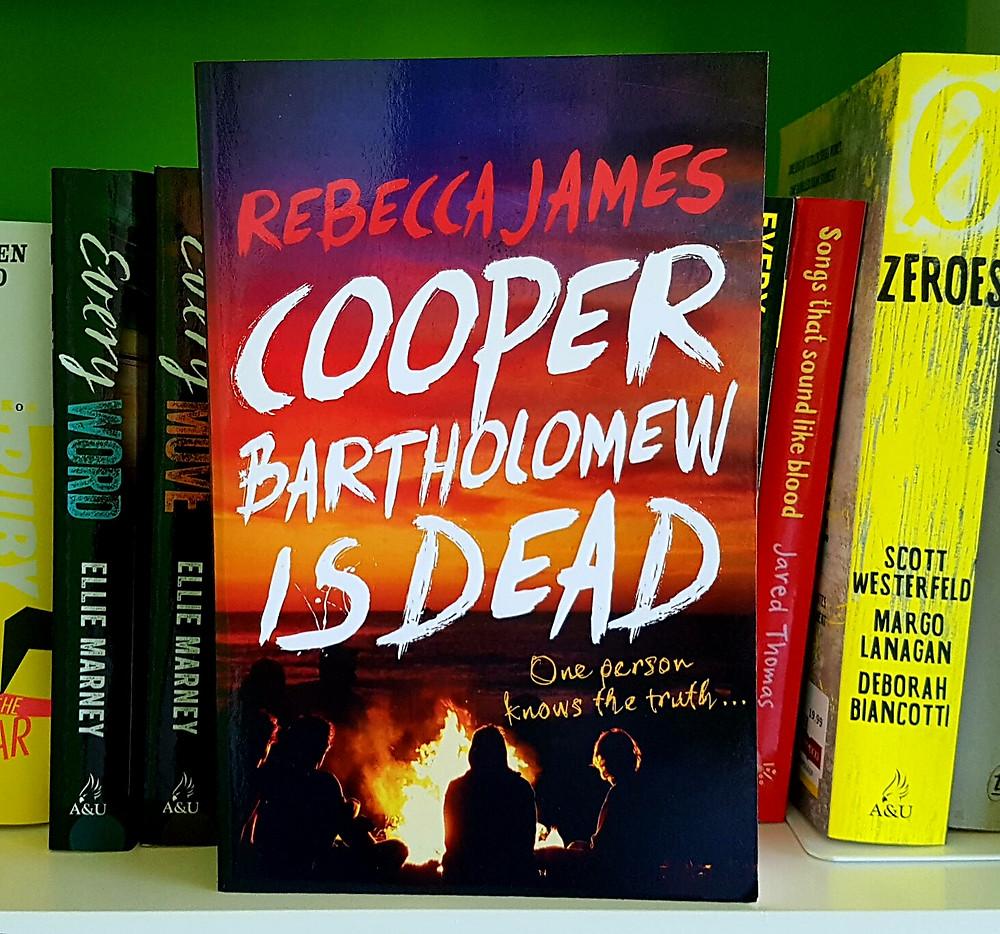 Photo of Cooper Bartholomew is Dead, Rebecca James.