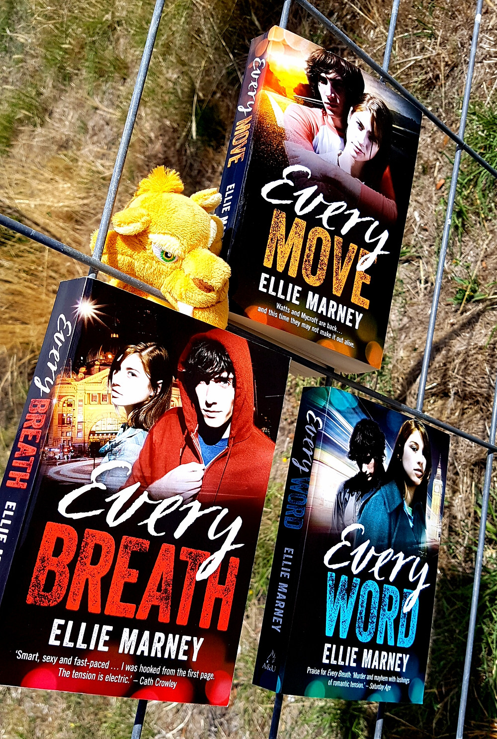 Photo of the Every series, Ellie Marney.